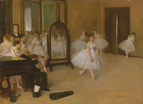 The Dancing Class, Edgar Degas van Meesterlijcke Meesters