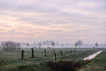 winterliche Landschaft von Tania Perneel