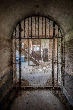Urbex à la découverte de la prison sur Digitale Schilderijen
