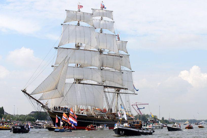 Sail in Amsterdam 2015 van Roelof Foppen