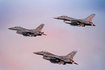 F-16 Fighting Falcon USA van