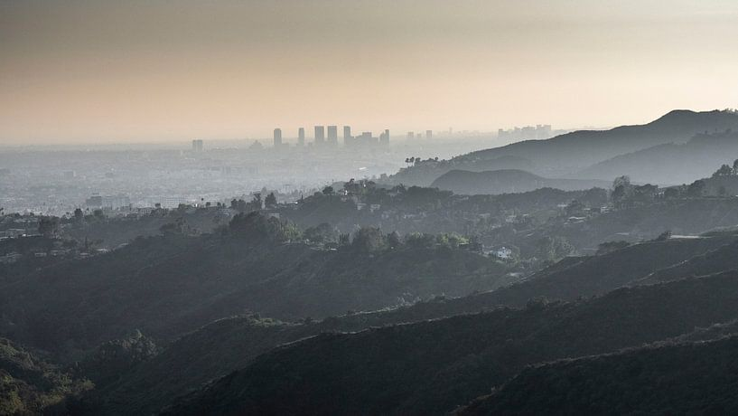 Los Angeles naar Santa Monica van Jasper Verolme