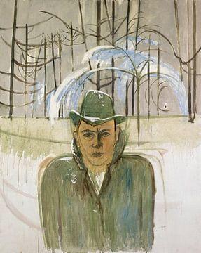 Zelfportret, Walter Kurt Wiemken