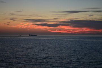 Sonnenuntergang am Meer von FotoGraaG Hanneke