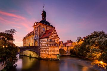 Stadhuis Bamberg, Duitsland van Adelheid Smitt