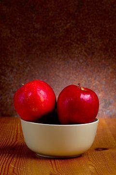Stilleven met rode appels van 7Horses Photography