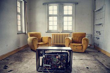 Salle de télévision sur Dick Carlier