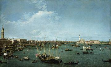 San Marco-bekken, Venetië, Canaletto