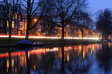 Tolsteegsingel in Utrecht sur Donker Utrecht