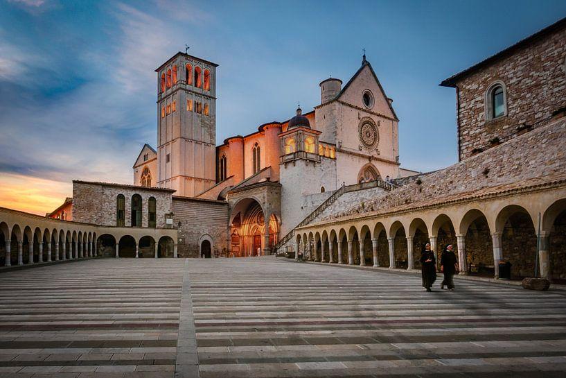 De Pauselijke Basiliek van Sint Franciscus van Assisi van Edwin van Wijk