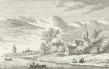 Abraham Rademaker, Ansicht von Capelle aan den IJssel, 1632