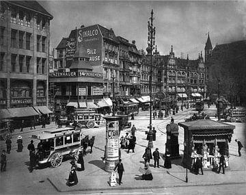 Berlijn, Spittelmarkt, 1909 van Atelier Liesjes
