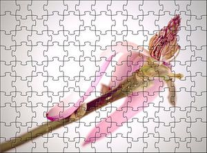 Blumen-Puzzle Magnolie van