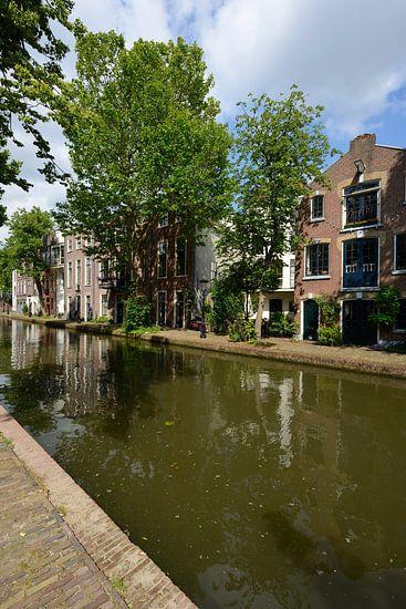 Twijnstraat aan de Werf aan de Oudegracht in Utrecht van In Utrecht