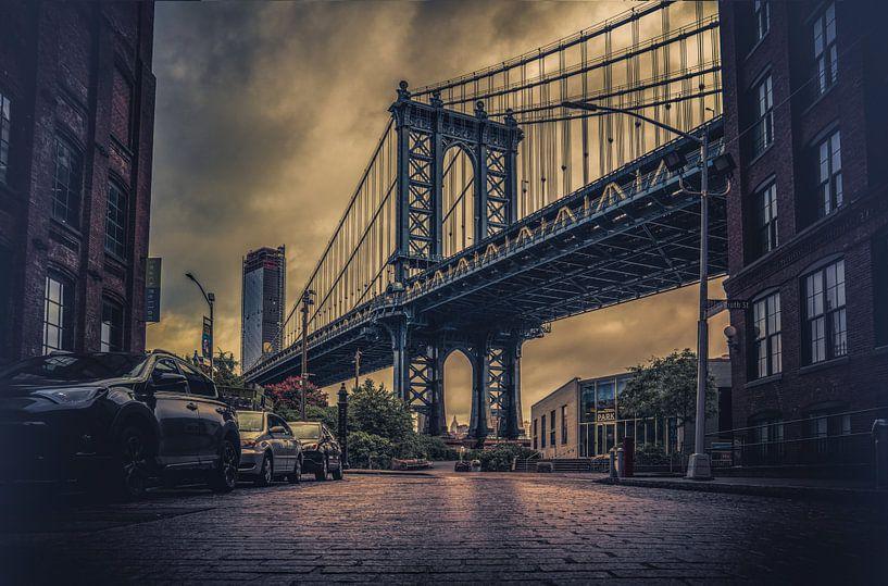 Manhattan Bridge van Joris Pannemans - Loris Photography