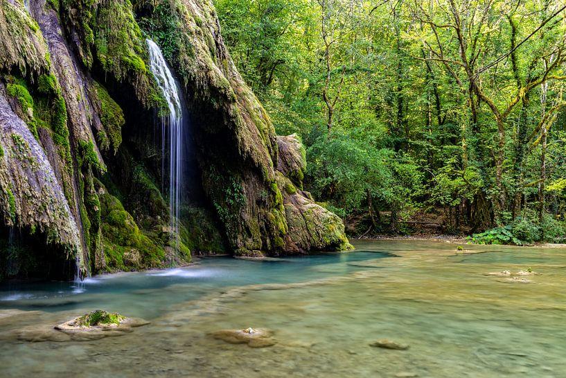 Waterval in het bos van Martijn Joosse