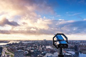rotterdam from the euromast