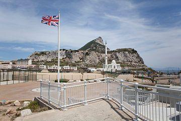 Gibraltar englischer Bereich von Kees van Dun