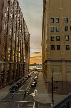 Sunset in New York van EVH Cinematography