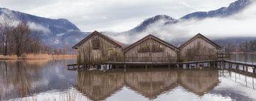 Hangars à bateaux à Kochelsee