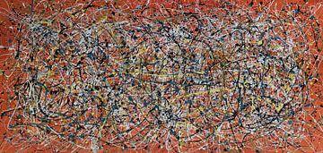 Lyrische abstractie IV van Jerome Coppo