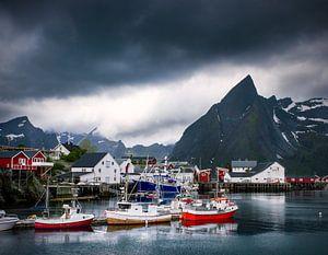 Le port de Hamnø sur les Lofoten