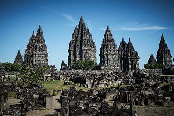 tempel op java van Karel Ham