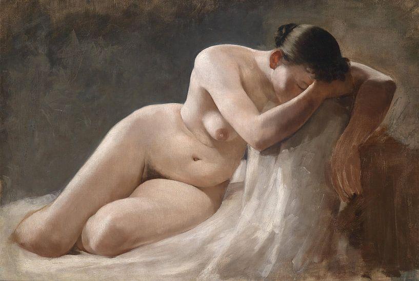 Frau im Detail im Aktporträt von Atelier Liesjes