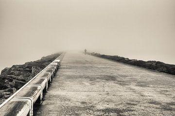 Wellenbrecher Ostende von Rik Verslype