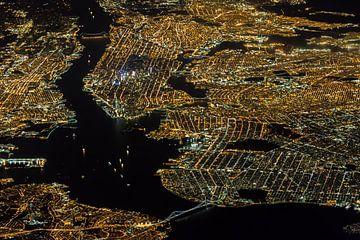New York de nuit sur Peter Leenen
