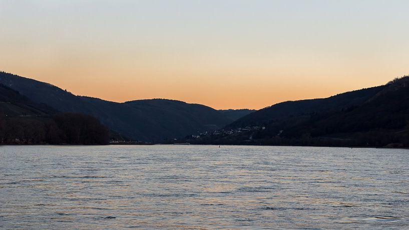 Het gebergte van de Duitse Rijn van JWB Fotografie
