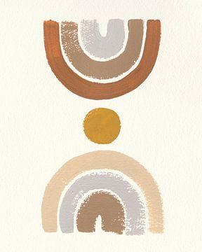 Desert Rainbows I, Moira Hershey van Wild Apple