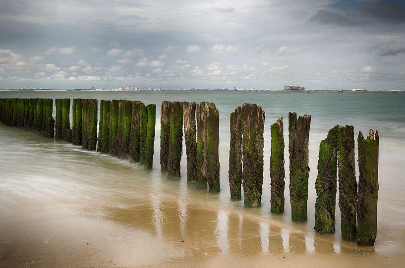 Zeezicht Zeeland van Mark Bolijn