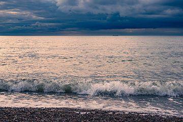 Strand an der Ostseeküste bei Meschendorf von Rico Ködder