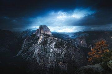 Half Dome Gewitter von Joris Pannemans - Loris Photography