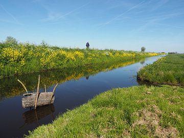 Polderlandschap bij Giessenburg sur Beeldbank Alblasserwaard