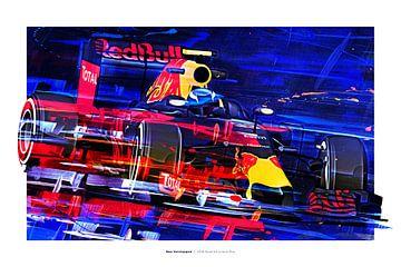 Max Verstappen van Nylz Race Art
