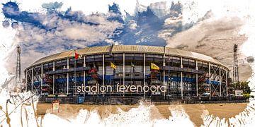 "Feyenoord ART Rotterdam Stadion ""De Kuip"" Front"