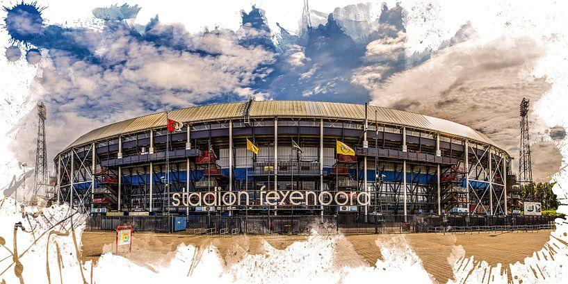 """Feyenoord ART Rotterdam Stadion """"De Kuip"""" Voorkant van MS Fotografie   Marc van der Stelt"""