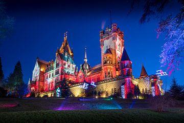 Château de Drakenburg en Allemagne, forteresse colorée sur Natasja Tollenaar