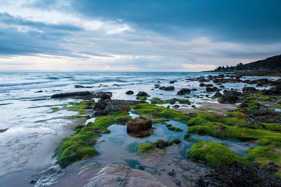 Vergezicht over Whiting Bay van Frank Hoogeboom