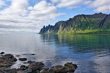 Die Teufelszähne am Ersfjord - Norwegen von Gisela Scheffbuch