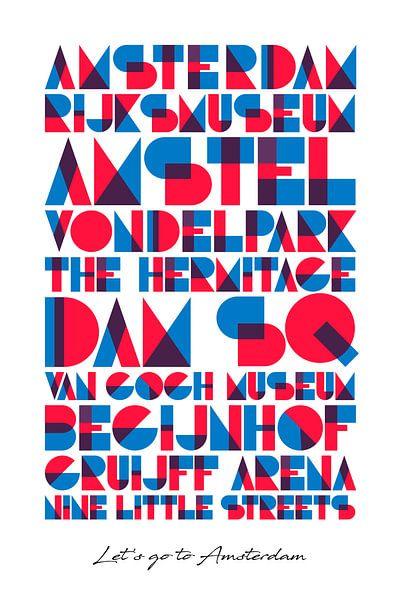 Amsterdam muss sehen von Harry Hadders