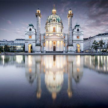 Karlskirche Wien von Florian Schmidt
