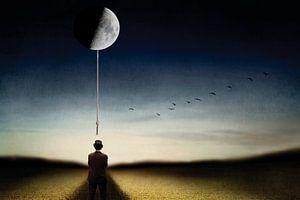 Der Mensch und der Mond von Ben Goossens