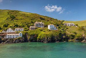 Doc Martin House am Hafen von Port Isaac, Cornwall von Christian Müringer