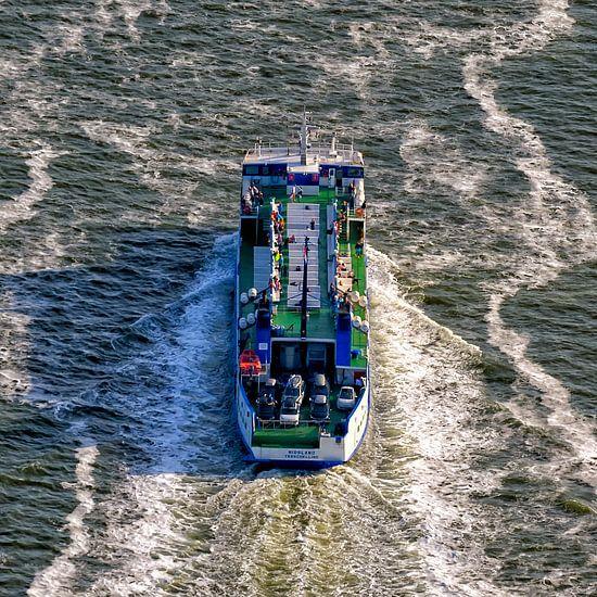 """Veerboot """"Midsland"""" van Rederij Doeksen"""