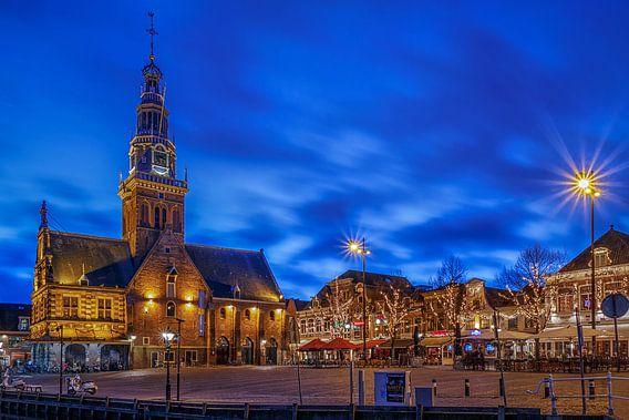 Waagplein Alkmaar van Sjoerd Veltman