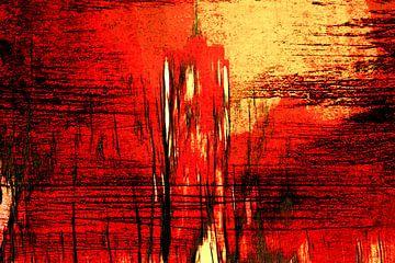 Berlijn abstract - Rode Stadhuis