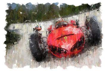 Ferrari 156 Sharknose von Theodor Decker